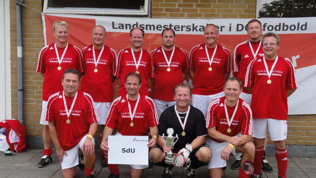 Landsmestre i senior old boys 7-mands – SdU – DGF Flensborg