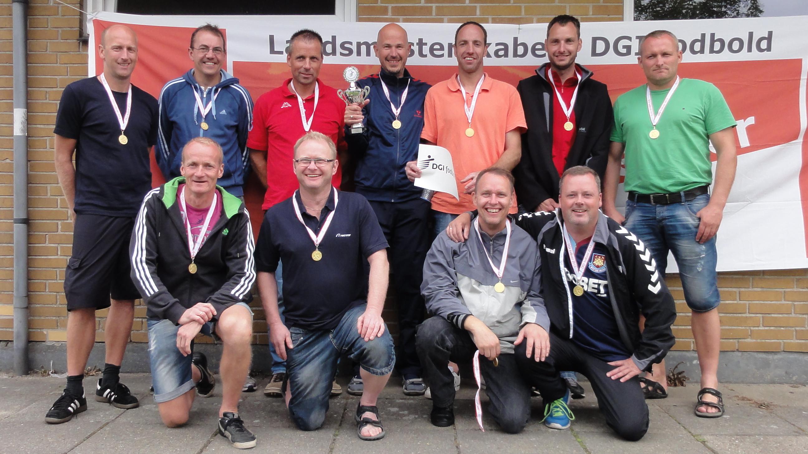 Vinder af Senior Old Boys +40 – DGI Sydøstjylland – Thyregod