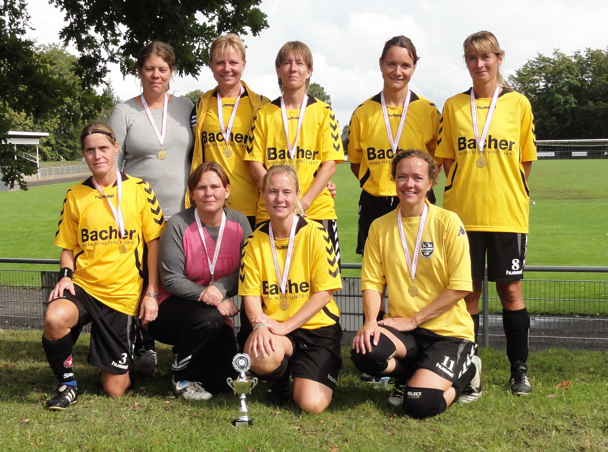 Senior Old Girls +35 7 mands Vallensbæk