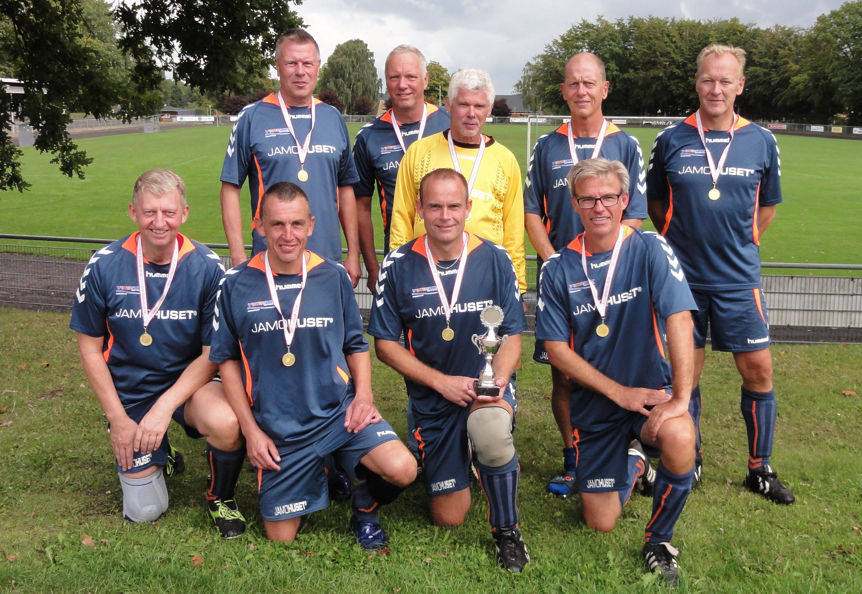 Vinder af Super Veteraner +50 7 mands Sallingsund FC Glyngøre