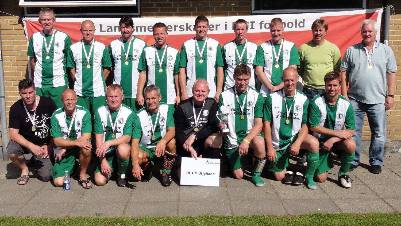 Landsmester i senior old boys 11-mands ude fodbold 2010