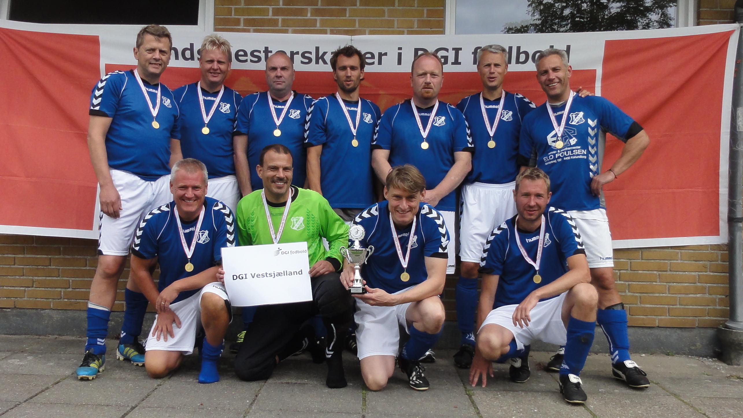 Vinder af Senior Old Boys +40 – DGI Vestsjælland – Raklev