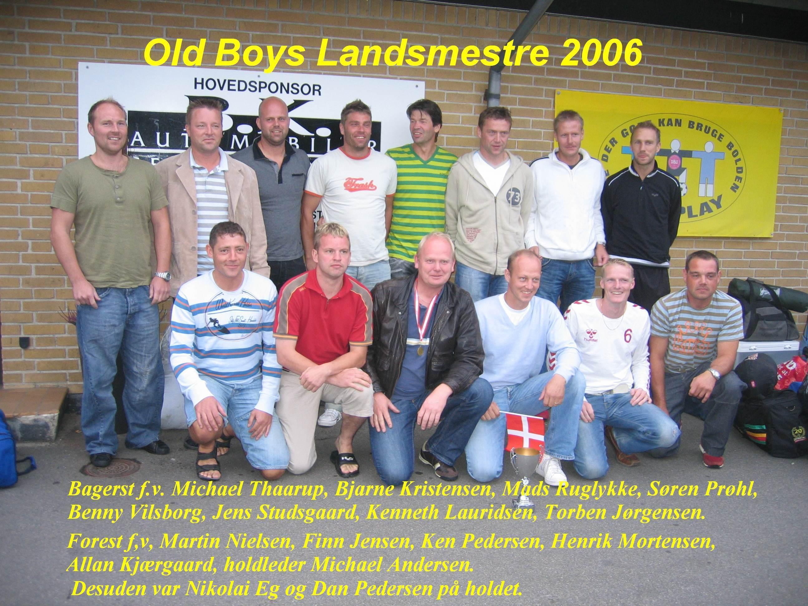 Old Boys Landsmester 2006